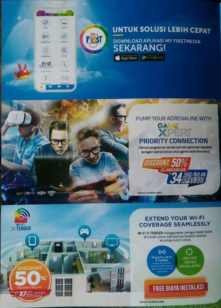 First media. Internet tercepat. Internet termurah. Paket internet. First media semarang