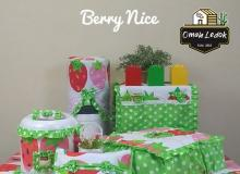 Kitchen Set Cover Berry Nice